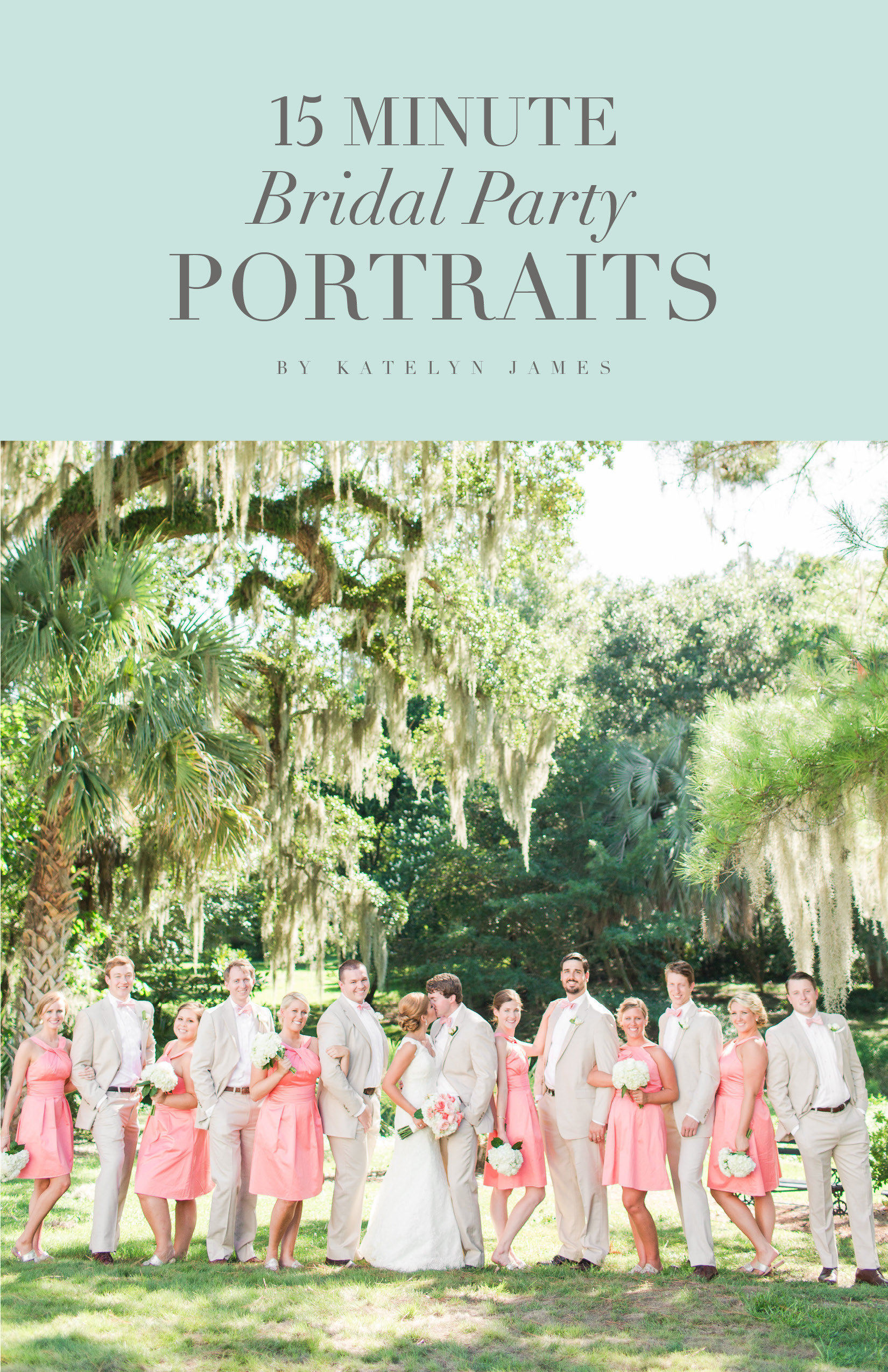15 Minute Bridal Party PortraitsCOVER