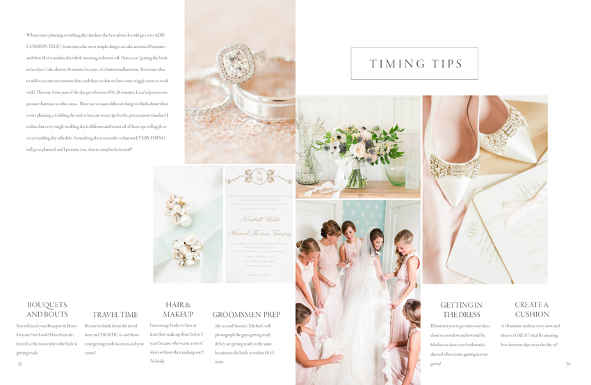 The kj bridal guide template 20 indesign format katelyn james the kj bridal guide junglespirit Gallery